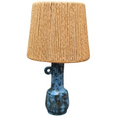 Ceramic Table Lamp by Jacques Blin, circa 1950s