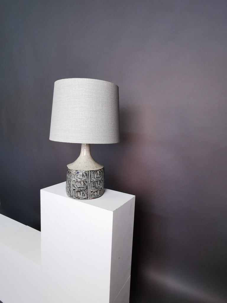 Ceramic Table Lamp by Jette Hellerøe, Denmark, 1964 For Sale 3