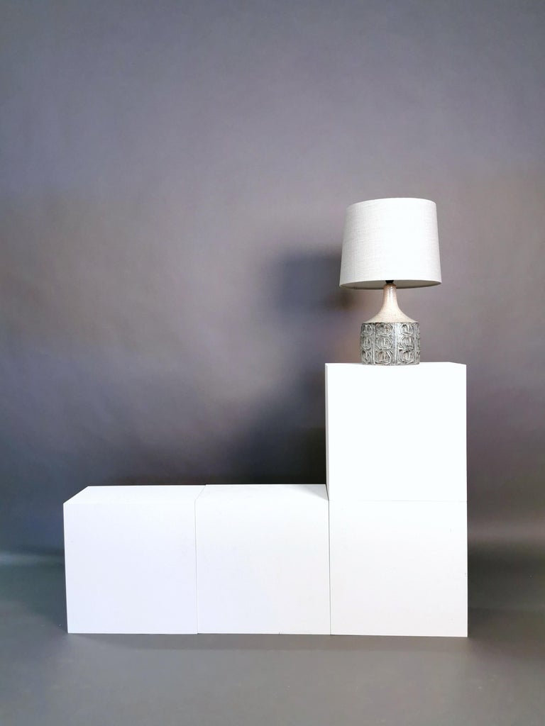 Ceramic Table Lamp by Jette Hellerøe, Denmark, 1964 In Excellent Condition For Sale In , DE