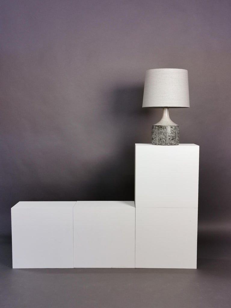 Mid-20th Century Ceramic Table Lamp by Jette Hellerøe, Denmark, 1964 For Sale