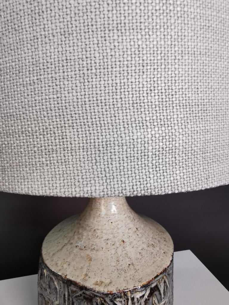 Ceramic Table Lamp by Jette Hellerøe, Denmark, 1964 For Sale 2