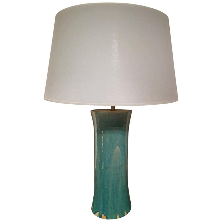 Ceramic Table Lamp Contemporary For Sale