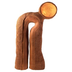"Ceramic Table Lamp ""Eye"" by Jan Ernst De Wet"