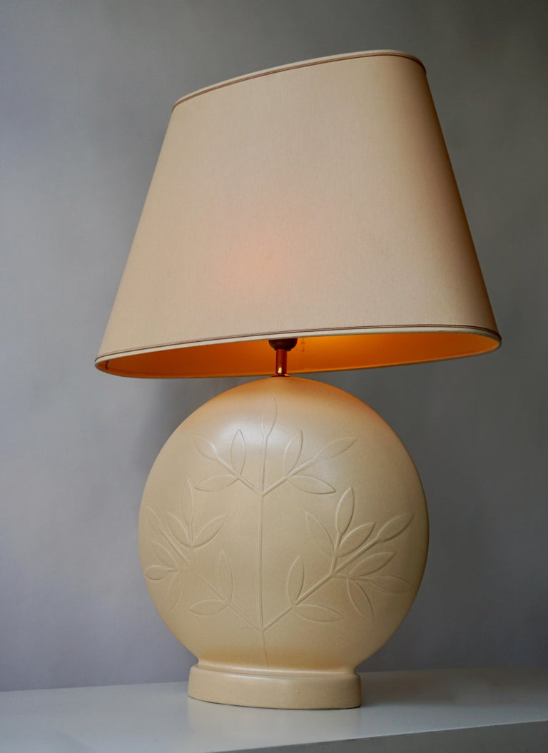 20th Century Louis Drimmer Ceramic Table Lamp  For Sale