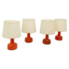 Ceramic Table Lamp Manufactured by Bay Keramik, Germany, 1960s