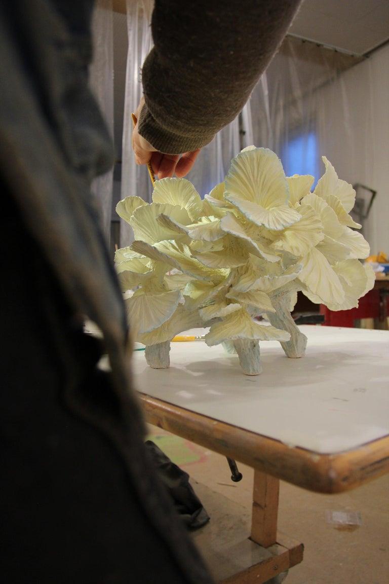 Ceramic Table Lamp, Matt Painted, Made to Order by Designer Teemu Salonen For Sale 7