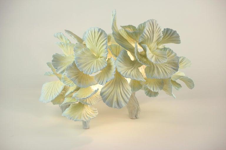 Modern Ceramic Table Lamp, Matt Painted, Made to Order by Designer Teemu Salonen For Sale