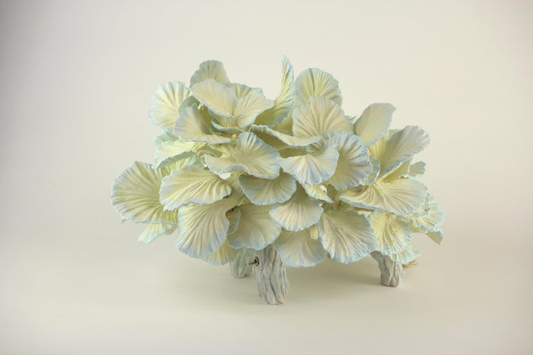 Finnish Ceramic Table Lamp, Matt Painted, Made to Order by Designer Teemu Salonen For Sale