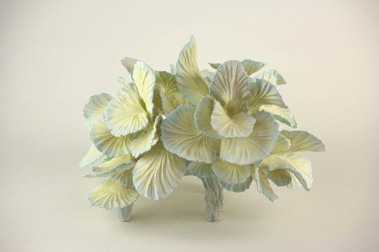 Ceramic Table Lamp, Matt Painted, Made to Order by Designer Teemu Salonen For Sale 1