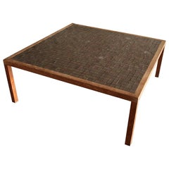 Ceramic Tile Square Coffee Table by Jane and Gordon Martz Marshall Studios