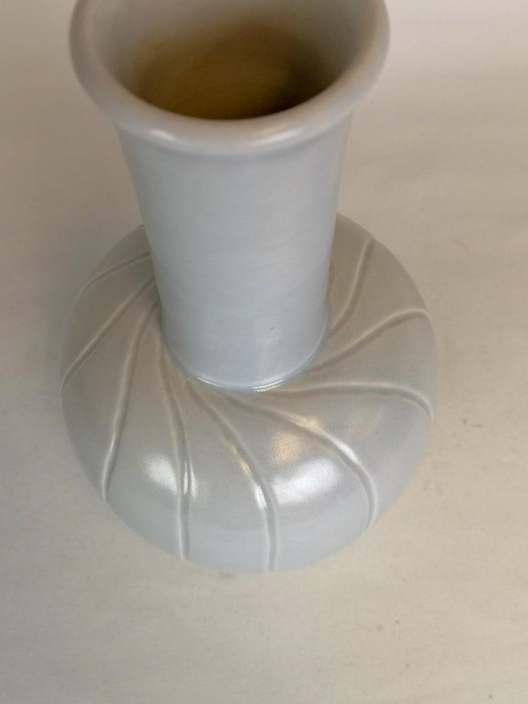 Swedish Ceramic Vase Bo Fajans Ewald Dahlskog, Sweden, 1940s For Sale