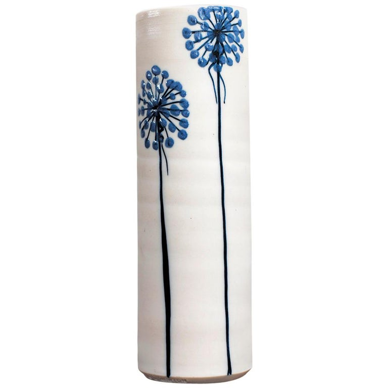 Ceramic Vase by Alan et Lyn Newton For Sale