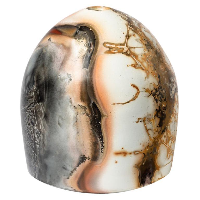 Ceramic Vase by Alistair Dahnieux, circa 2009 For Sale