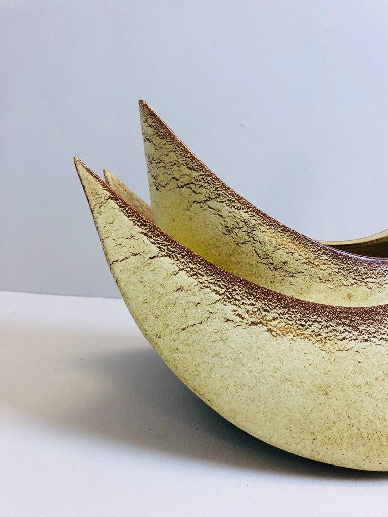 20th Century Ceramic Vase by Bertoncello, Italy, 1950s For Sale