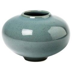 Ceramic Vase by Daniel De Montmollin, Signed under the Base