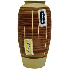 Ceramic Vase by Eduard Bay- W. Germany, 1961