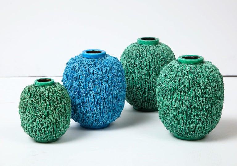 Ceramic vase by Gunnar Nylund, Sweden, circa 1950 For Sale 6