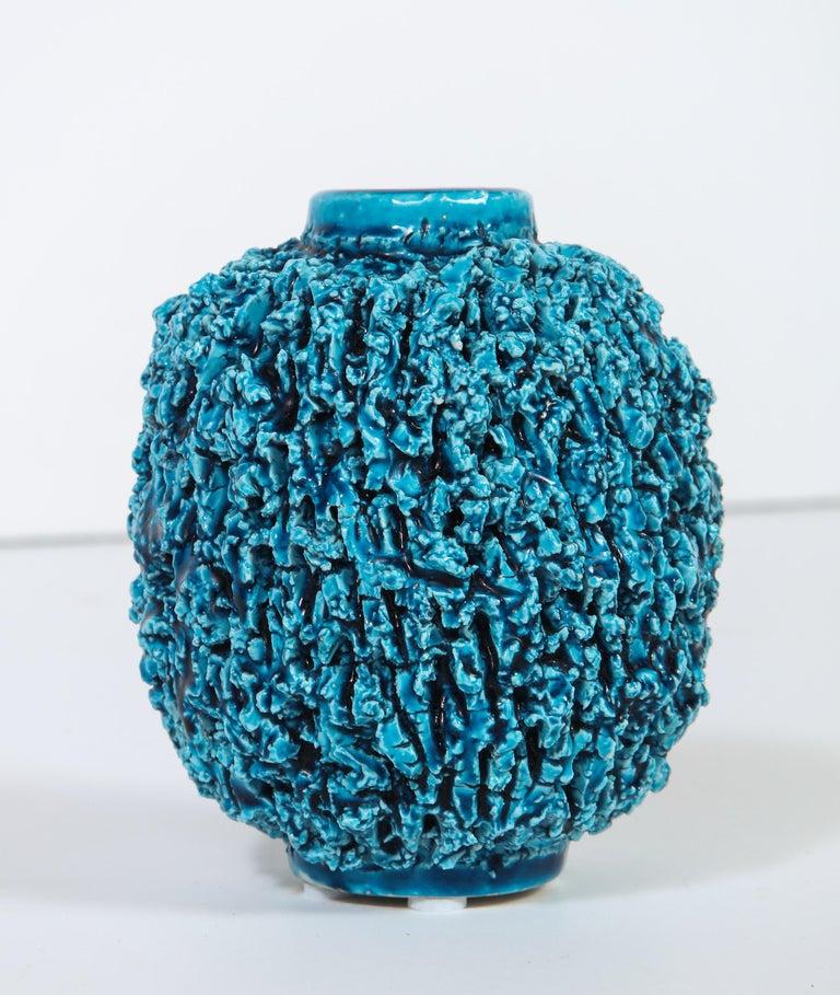 Mid-Century Modern Ceramic Vase by Gunnar Nylund, Sweden, circa 1950 For Sale