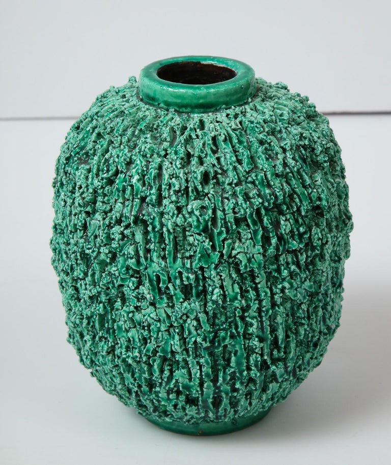 Mid-20th Century Ceramic vase by Gunnar Nylund, Sweden, circa 1950 For Sale