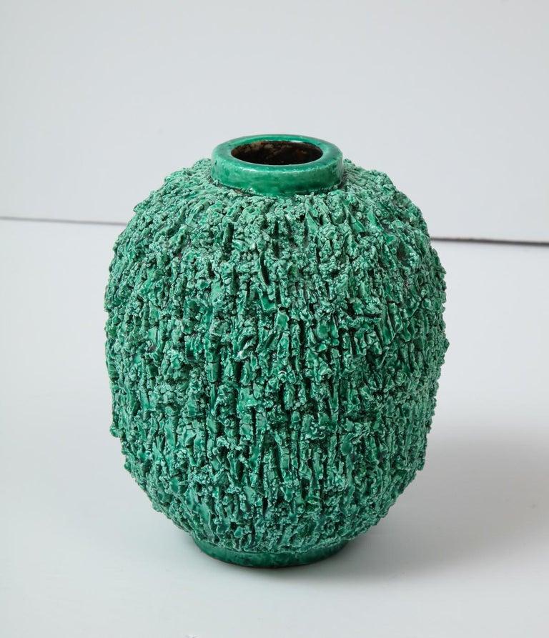 Ceramic vase by Gunnar Nylund, Sweden, circa 1950 For Sale 2