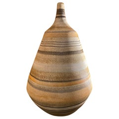 Ceramic Vase by Les 2 Potiers, France, 1960s