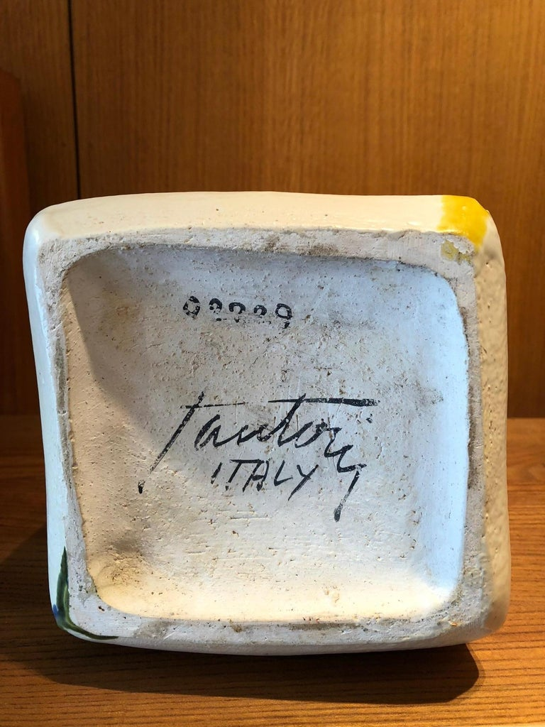 Ceramic Vase by Marcello Fantoni For Sale 1
