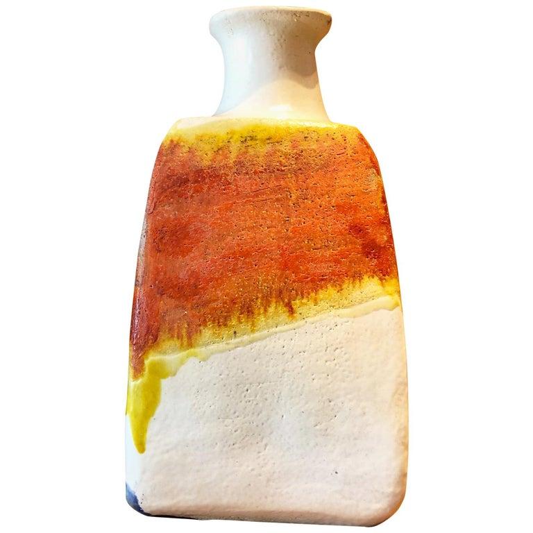 Ceramic Vase by Marcello Fantoni For Sale