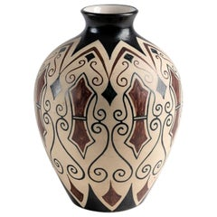 Ceramic Vase by Pedro Garcia de Diego for Ciboure Pottery, France, circa 1955