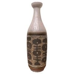 Mid-Century Modern Ceramic Vase by Perignem, Belgium