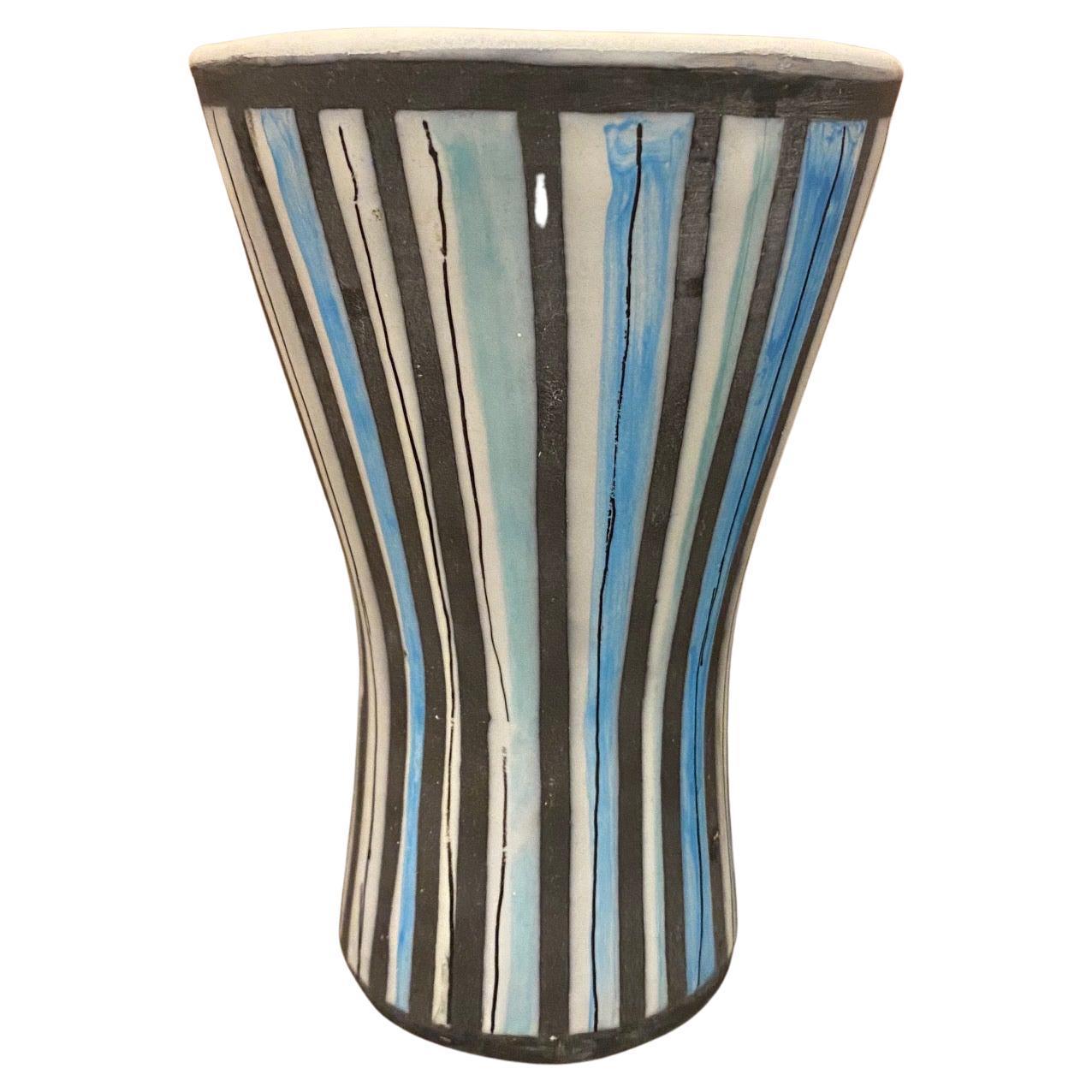Ceramic Vase by Roger Capron, France, 1950s