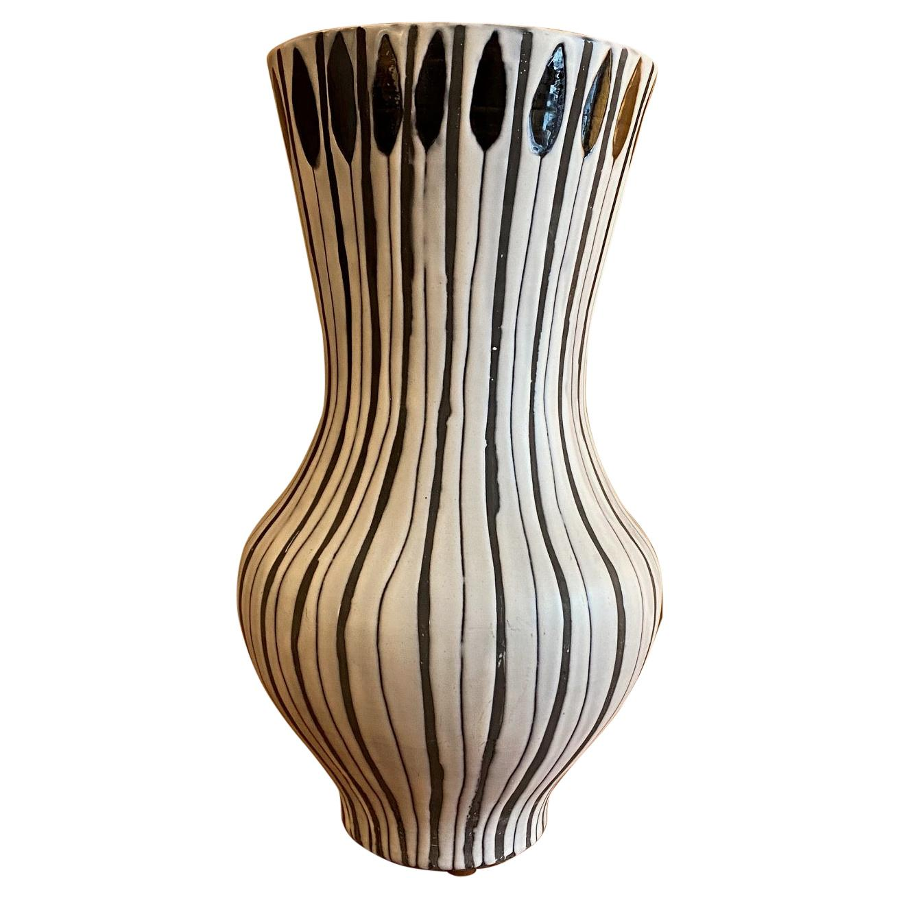 Ceramic Vase by Roger Capron, France, 1960s