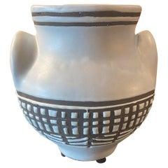 Ceramic Vase by Roger Capron, Vallauris, France, 1950s