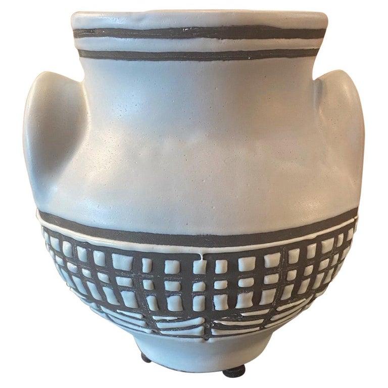 Ceramic Vase by Roger Capron, Vallauris, France, 1950s For Sale