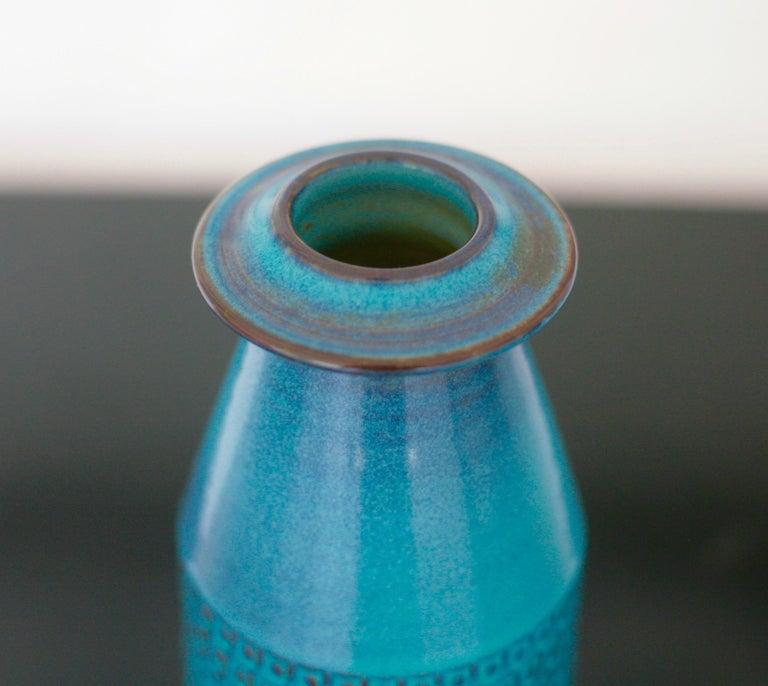 Scandinavian Modern Ceramic Vase by Stig Lindberg for Gustavsberg For Sale