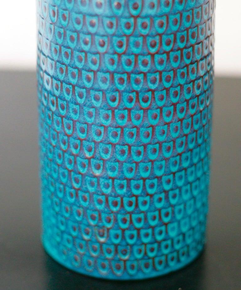 Swedish Ceramic Vase by Stig Lindberg for Gustavsberg For Sale