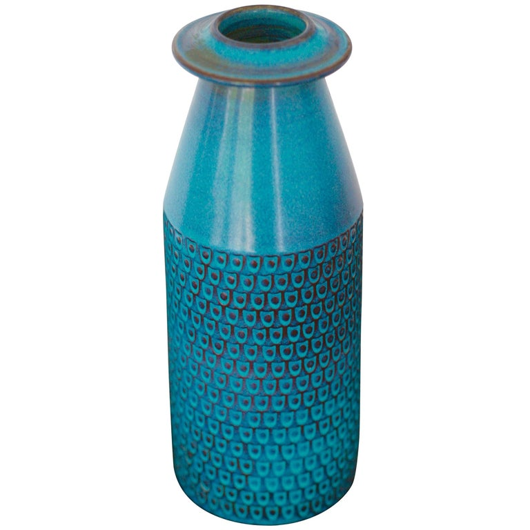 Ceramic Vase by Stig Lindberg for Gustavsberg For Sale