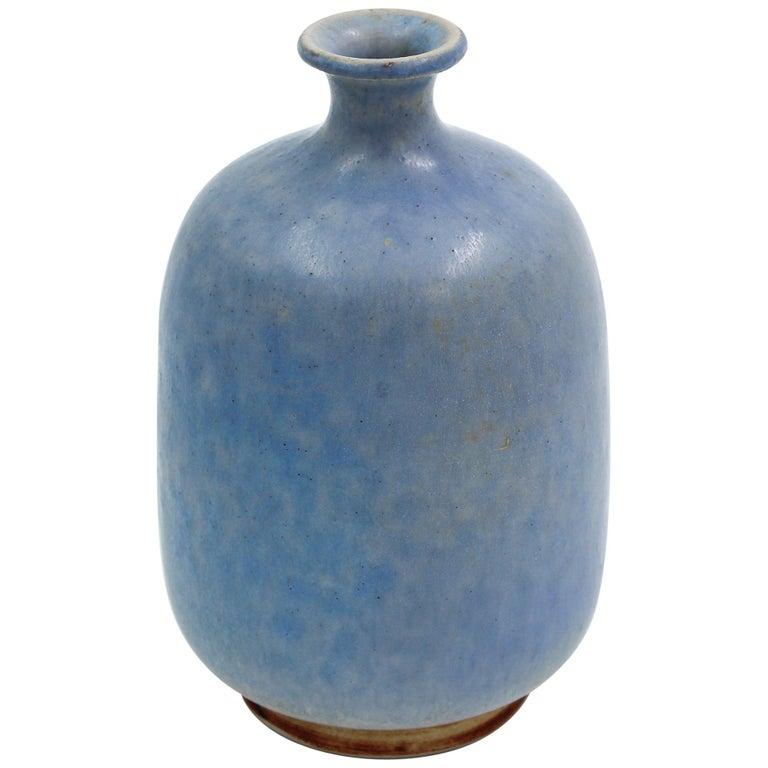 Ceramic Vase by Sven Hansson for Hganås, 1971 For Sale