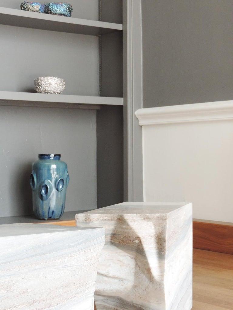 Ceramic Vase by Violante Lodolo D'Oria Glazed Stoneware Contemporary In New Condition For Sale In London, GB