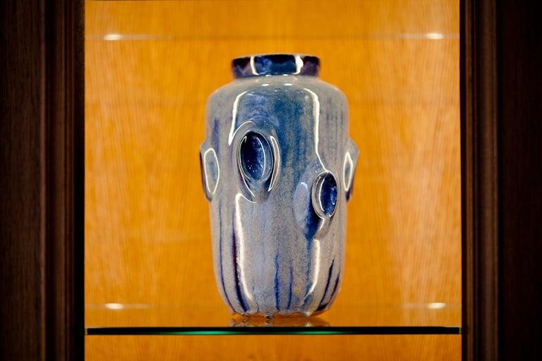 Ceramic Vase by Violante Lodolo D'Oria Glazed Stoneware Contemporary For Sale 1