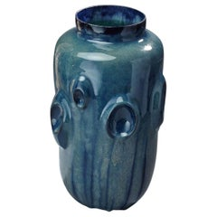 Ceramic Vase by Violante Lodolo D'Oria Glazed Stoneware Contemporary