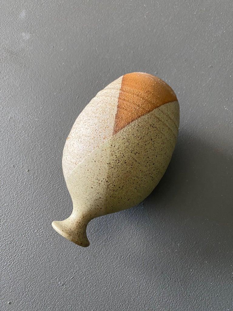 Mid-Century Modern Ceramic Vase by Wishon-Harrell For Sale