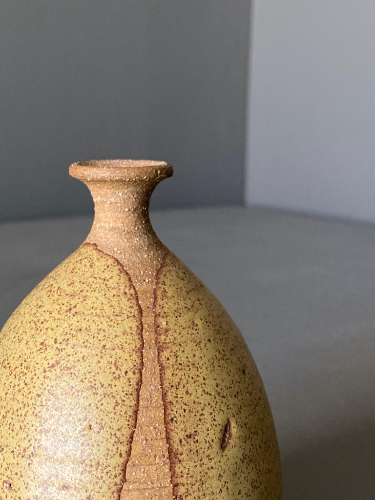 American Ceramic Vase by Wishon-Harrell For Sale