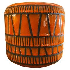 Ceramic Vase / Flowerpot by Roger Capron, France, 1960s
