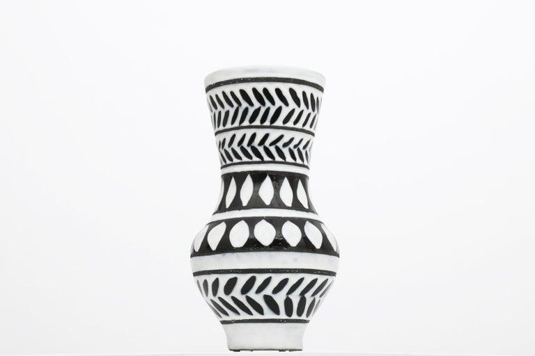 French Ceramic Vase For Sale