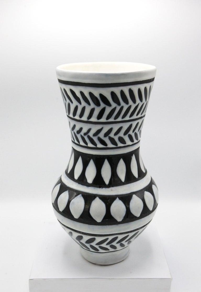 Glazed Ceramic Vase For Sale