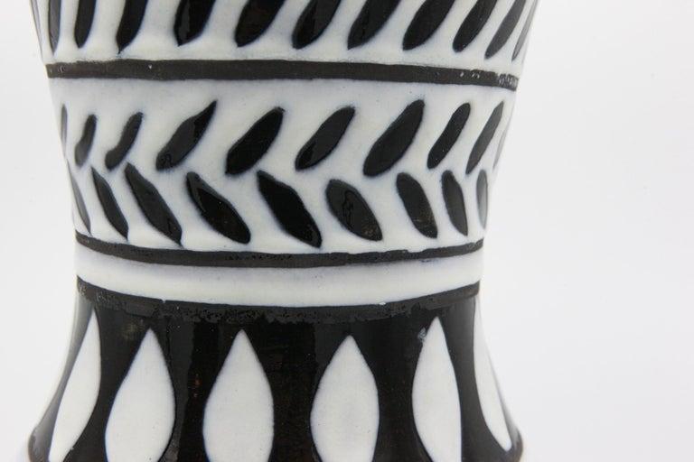 Ceramic Vase In Good Condition For Sale In New York, NY