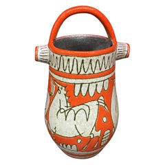 Ceramic Vase, Italy, circa 1950