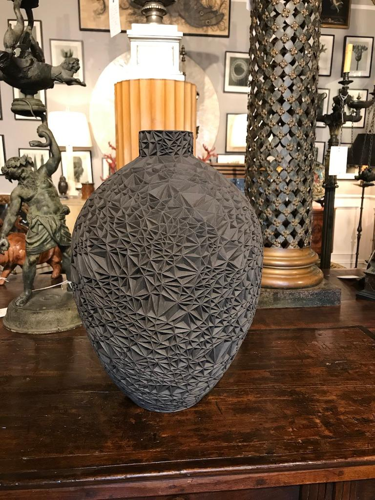 Ceramic Vase 'Primavera' by Leah Jensen For Sale 3