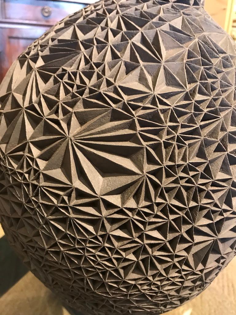 Ceramic Vase 'Primavera' by Leah Jensen For Sale 6