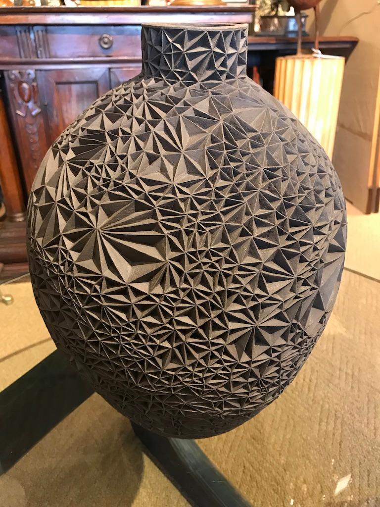Ceramic Vase 'Primavera' by Leah Jensen For Sale 7
